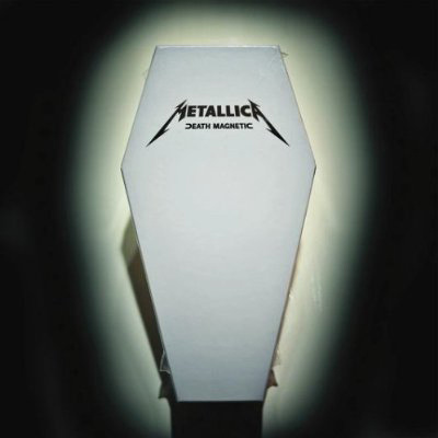 coffin box metallica death magnetic