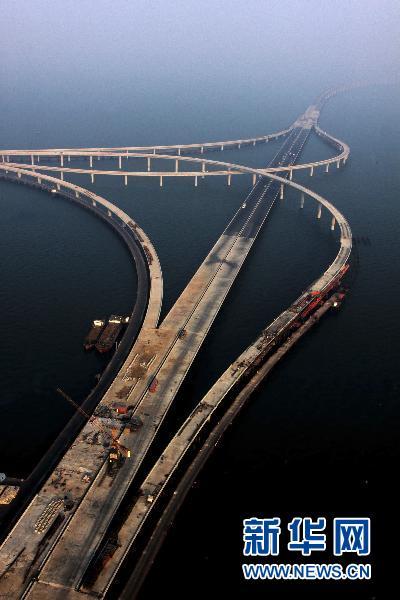 Le Pont De Qingdao Haiwan Le Pont Le Plus Long Du Monde