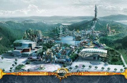 wow world of warcraft theme park , world joyland