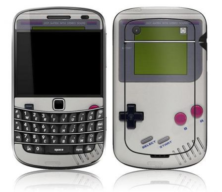 gameboy skin blackberry
