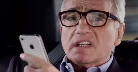 siri martin scorsese iphine advertissement