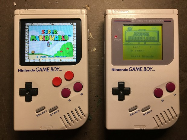 Raspberry Pi Game Boy Case Mod gameboyPy.jpg