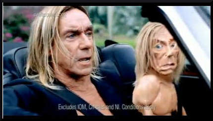 iggy pop swiftcover commercial tv