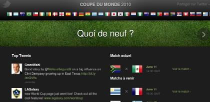 Twitter world cup 2010 twitter coupe du monde un blog - Coupe d afrique en direct sur internet ...
